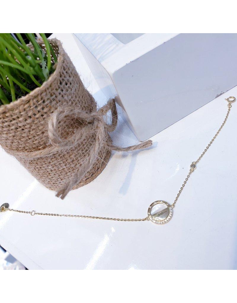 ANG0018 -  Gold  Bracelet