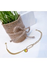 ANG0028 -  Gold  Anklet