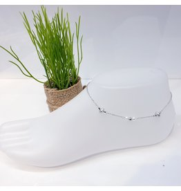 ANF0004 - Silver Anklet
