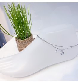 ANF0016 - Silver Anklet