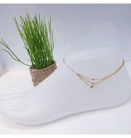 ANF0021 - Gold Anklet