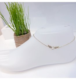 ANF0022 - Gold Anklet