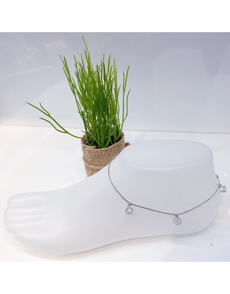 ANF0006 - Silver Anklet