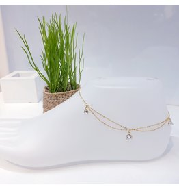 ANF0002 - Gold Anklet