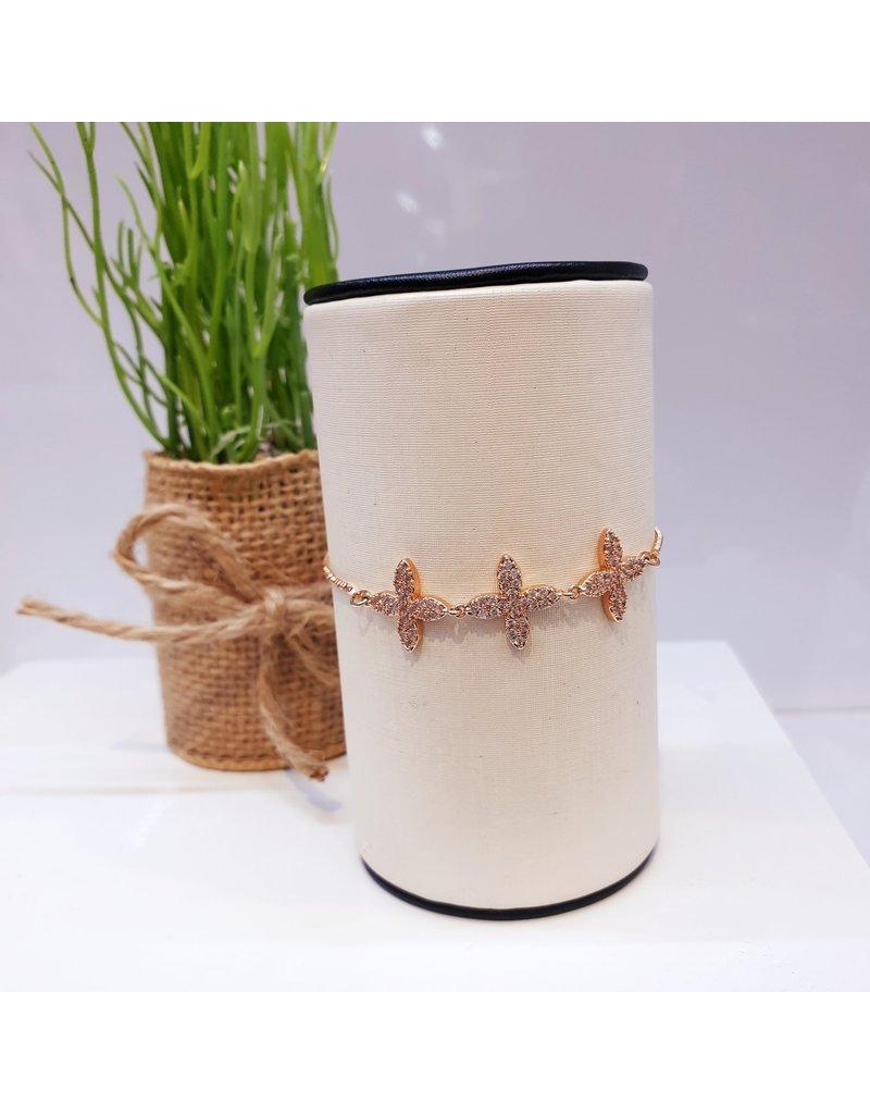 BJD0050-Rose Gold Adjustable Bracelet