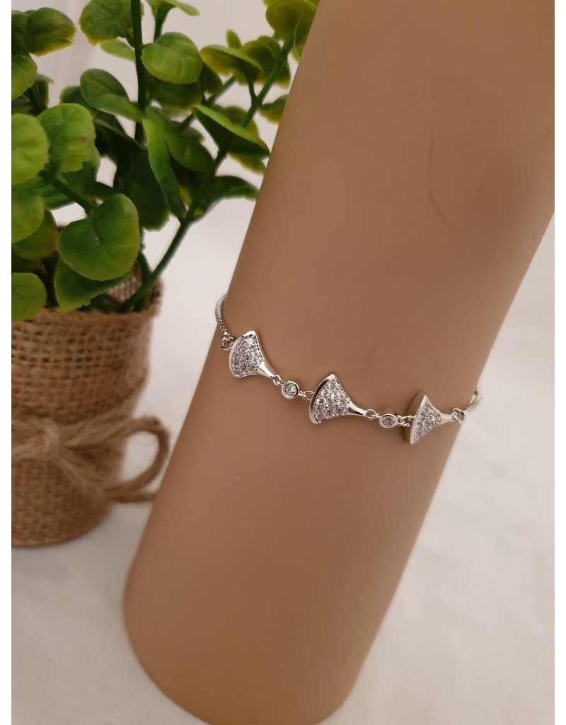 BJD0053-Silver Adjustable Bracelet