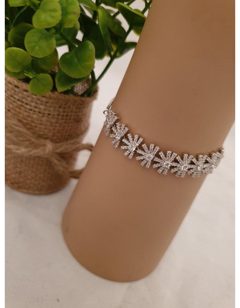BJD0054-Silver Adjustable Bracelet