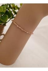 BJD0076-Rose Gold Adjustable Bracelet