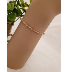 BJD0076-Rose Gold Adjustable Bracelet