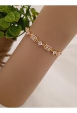 BJD0079-Gold Adjustable Bracelet