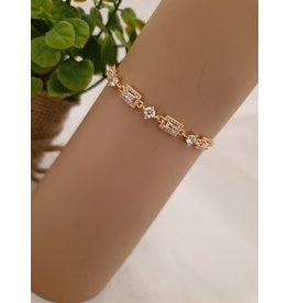 BJD0079-Gold Adjustable Bracelet