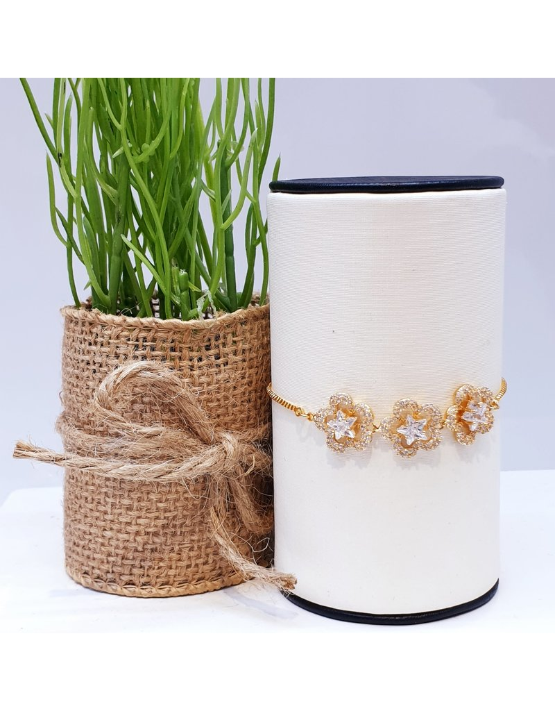 BJD0085-Gold Adjustable Bracelet