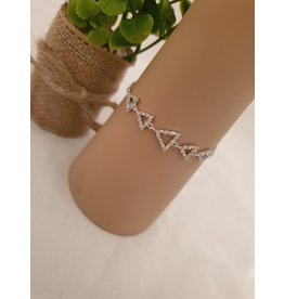 BJD0095-Silver Adjustable Bracelet
