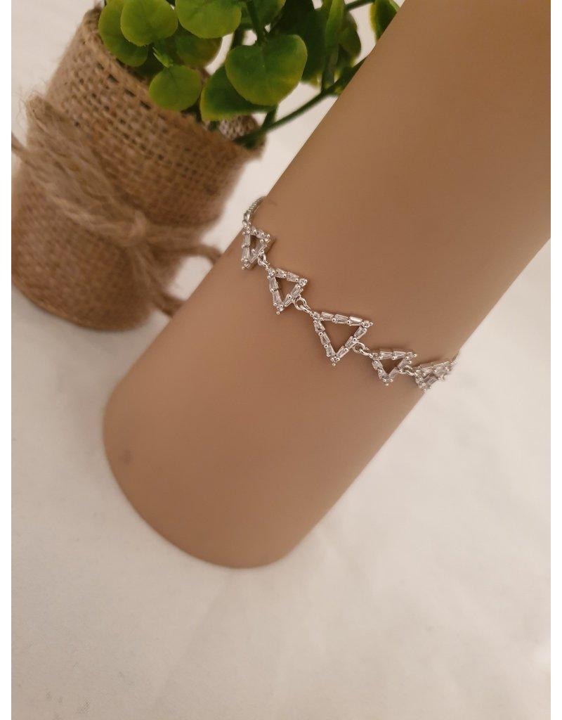 BJD0095-Silver Adjustable Bracelet