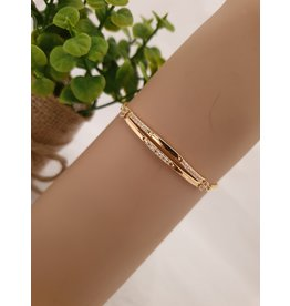 BJD0106-Gold Adjustable Bracelet