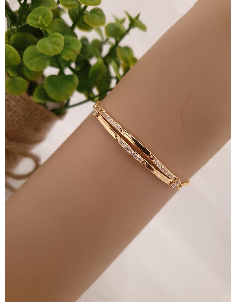 BJD0106-Gold Adjustable Bracelet