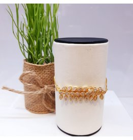 BJD0109-Gold Adjustable Bracelet