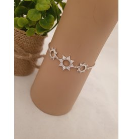 BJD0111-Silver Adjustable Bracelet