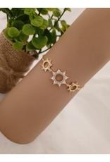 BJD0112-Gold Adjustable Bracelet