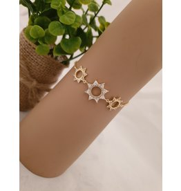 BJD0112-Gold Adjustable Bracelet