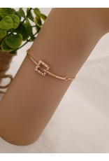 BJD0131-Rose Gold Adjustable Bracelet