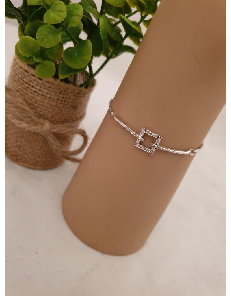 BJD0132-Silver Adjustable Bracelet