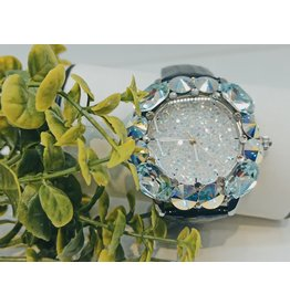 WTA0003 - Black White, Mother Of Pearl Watch