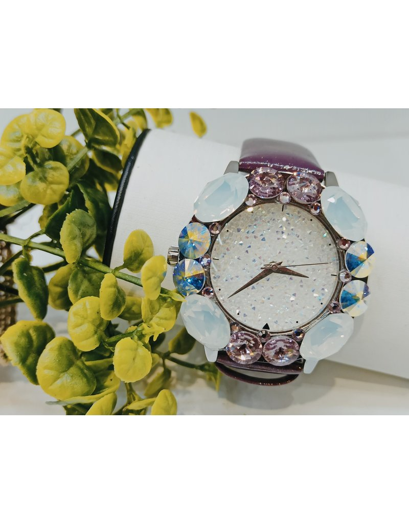 WTA0015 - Grape White Watch