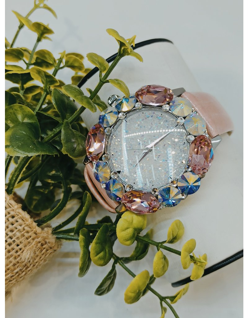 WTA0020 - Pink Mother Of Pearl Watch