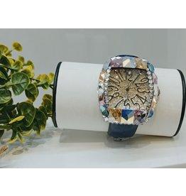 WTA0025 - Navy Blue Multicolour Watch