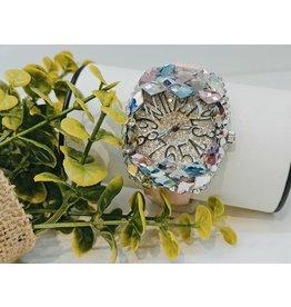 WTA0026 - Pink Diamond Crystals Watch