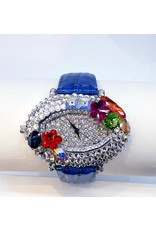50210113 - Blue and Silver Watch