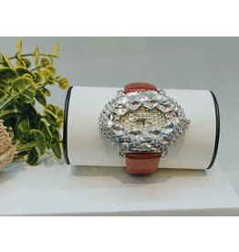 50210036 - Red and Silver Watch
