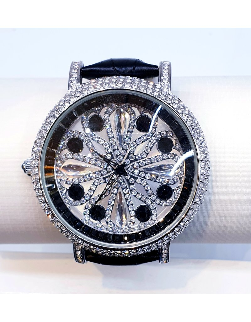 50250431 - Silver and Black Watch