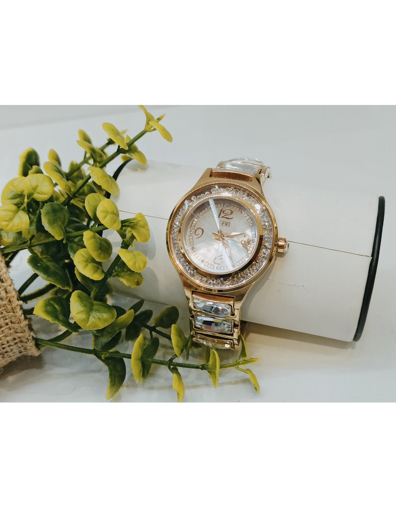 50256040 - Gold and Silver jewel Watch