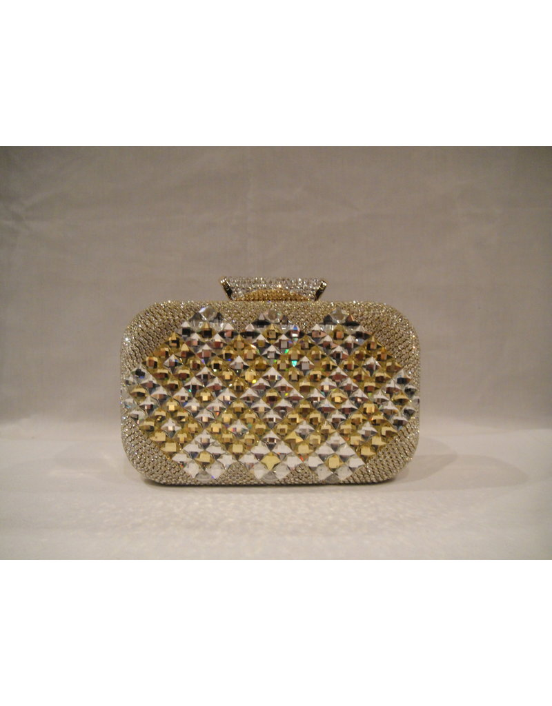 4020029 - Gold Mother Of Pearl Clutch Bag