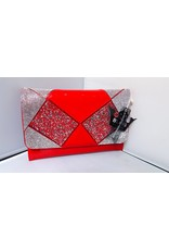 20240022 - Red  Clutch Bag