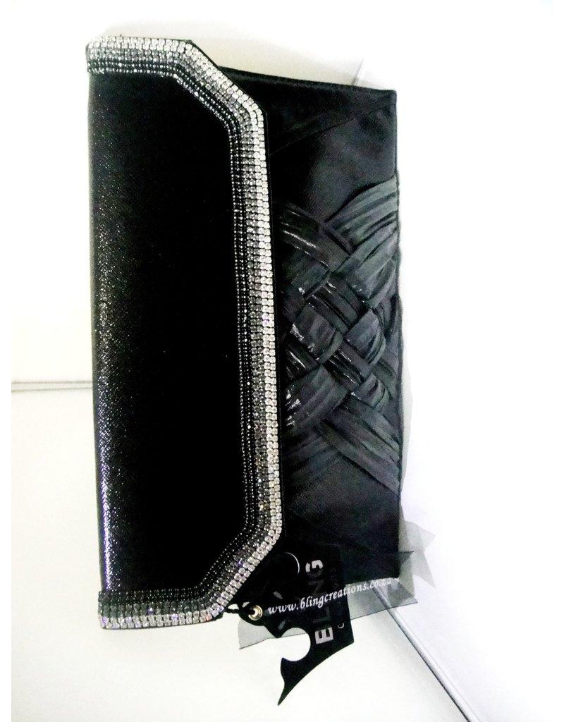 20240056 - Black  Clutch Bag