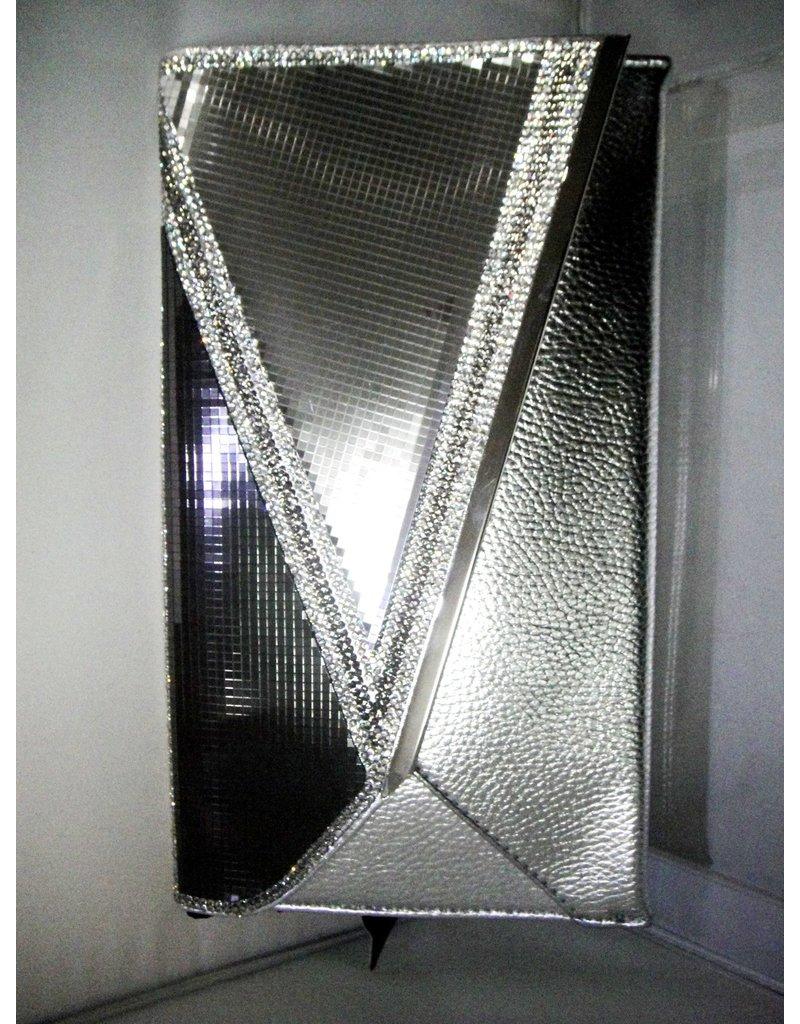 20240073 - Silver  Clutch Bag