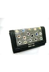 20240082 - Black Multicolour Clutch Bag