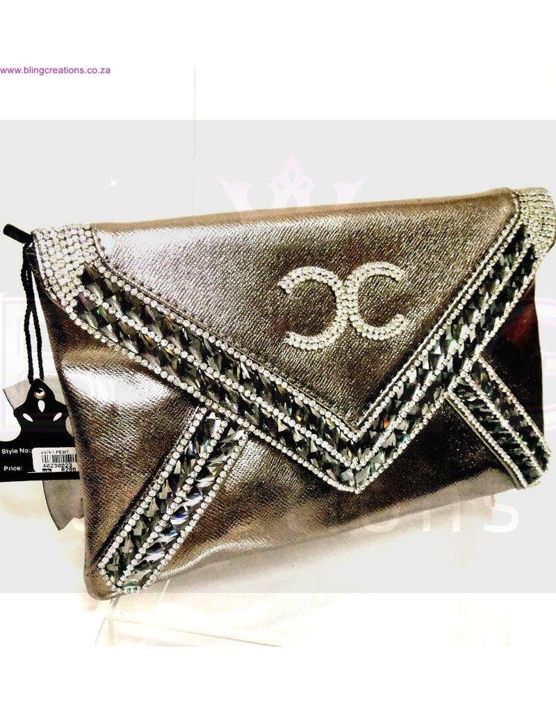 40230023 - Pewter  Clutch Bag