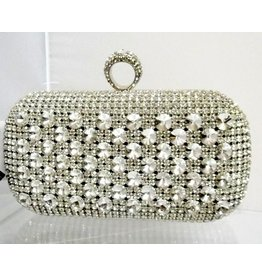 40230038 - Silver  Clutch Bag
