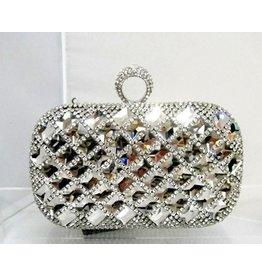 40230041 - Silver  Clutch Bag