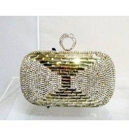 40230048 - Gold Silver Clutch Bag