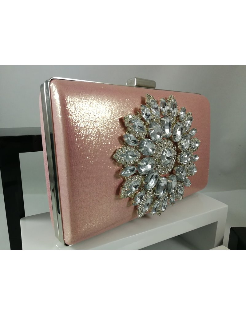 40241012 - Mink Silver Clutch Bag