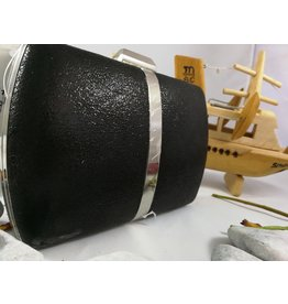 40241157 - Black Silver Clutch Bag