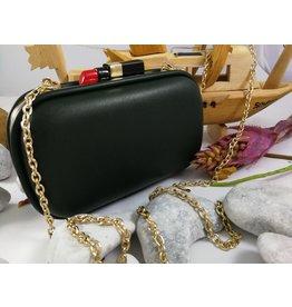 40241161 - Black Lipstick Clutch Bag