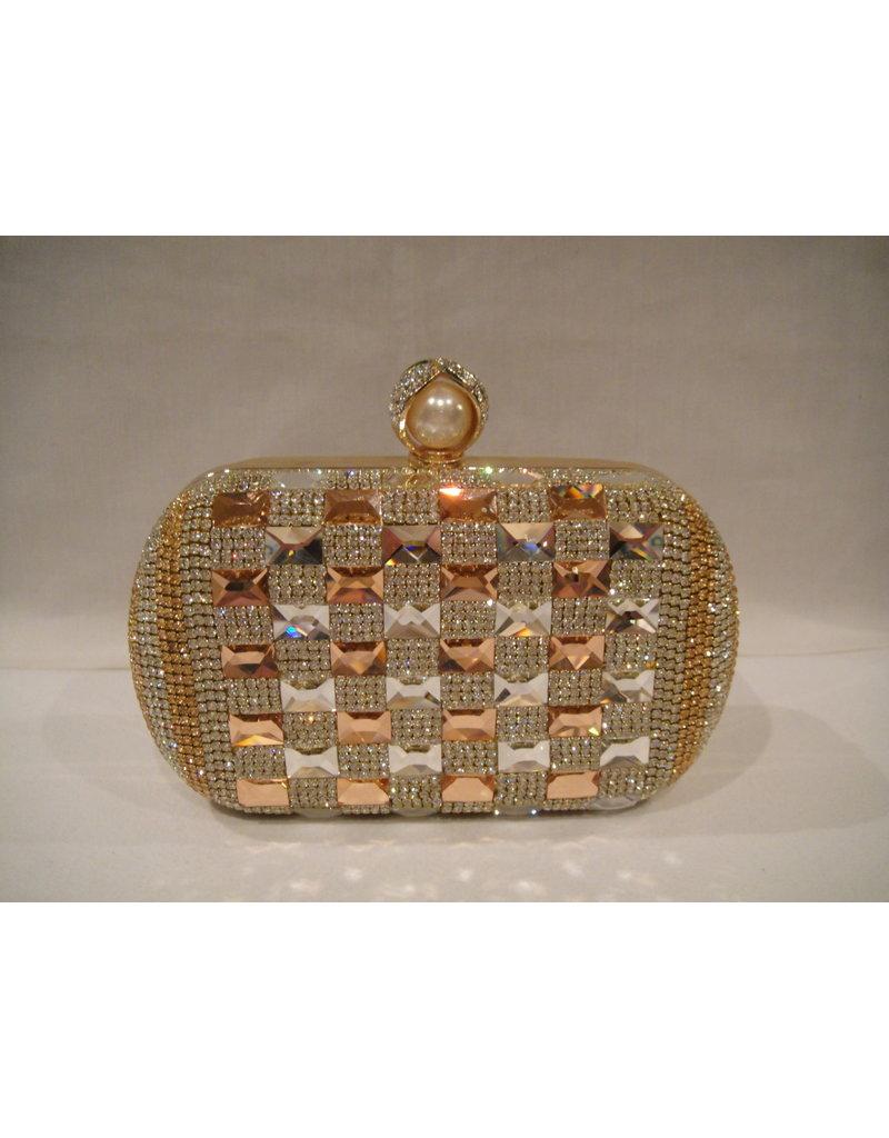 4020018 - Gold  Clutch Bag