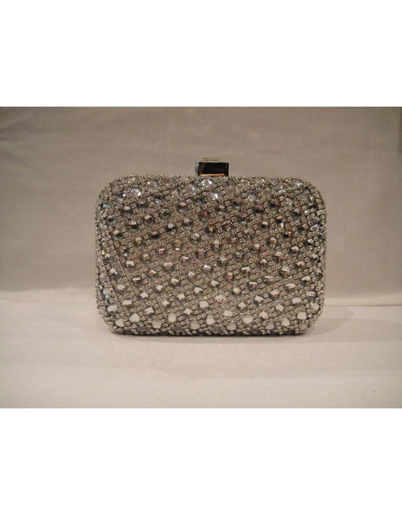 4020020 - Silver  Clutch Bag