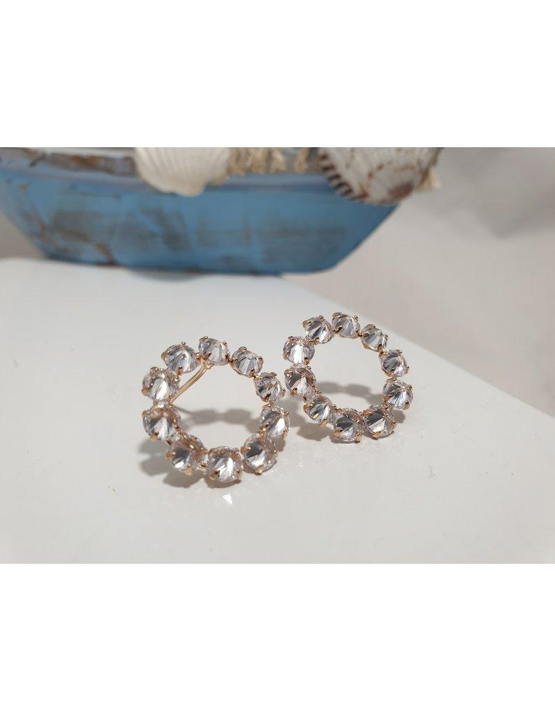 Ere0007 - Rose Gold -  Earring